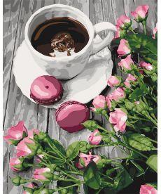 Картина по номерам Романтический кофе 40 х 50 см (KHO5559)