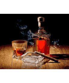 Картина по номерам Аромат сигар 40 х 50 см (MR-Q2191)