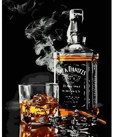 Картина по номерам Виски и сигара 40 х 50 см (MR-Q2192)