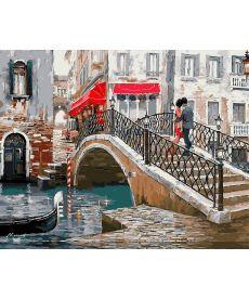 Картина по номерам Мост влюбленных 40 х 50 см (NB444)