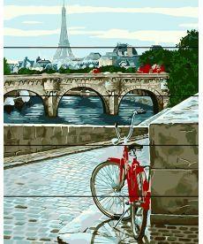 Картина по номерам Парижская мостовая 40 х 50 см (RA-AS0039)