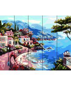 Картина по номерам Морская бухта 40 х 50 см (RA-C14)