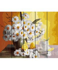 Картина по номерам Чай с лимоном и ромашки 40 х 50 см (RA-GXT29442)