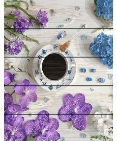 Картина по номерам Цветочный кофе-брейк 40 х 50 см (RA-GXT31056)