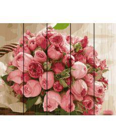 Картина по номерам Букет роз 40 х 50 см (RA-GXT4918)
