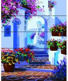 Картина по номерам Весна на Санторини 40 х 50 см (RA-W429)