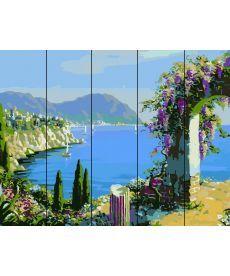 Картина по номерам Цветущая арка 40 х 50 см (RA-W454)