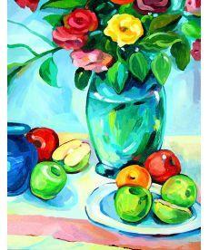 Картина по номерам Яблоки 35 х 45 см (RS-N000076)