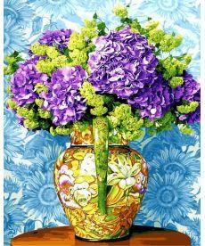 Картина по номерам Красочный букет сирени 40 х 50 см (VP1167)
