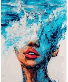 Картина по номерам Стихия воды 40 х 50 см (VP1180)