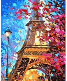 Картина по номерам Краски весеннего Парижа 50 х 65 см (VPS612)