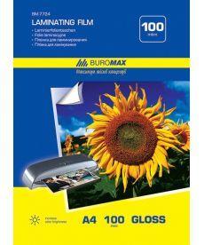 Пленка для ламинирования Buromax 100мкм 216x303мм - A4 100шт BM.7724