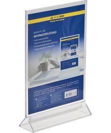 Информационная табличка Buromax двухсторонняя 210х297мм прозрачная BM.6415-00