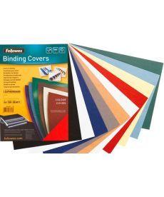 Обложки картонные А4 DELTA 250мкм т-синий под кожу