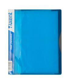 Папка с файлами Axent А5 дисплей-книга 20 файлов голубая 1220-07-A