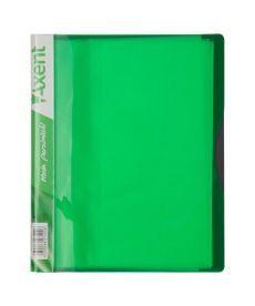 Папка с файлами Axent А5 дисплей-книга 20 файлов салатовая 1220-09-A