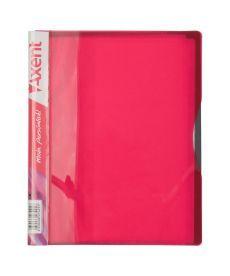 Папка с файлами Axent А5 дисплей-книга 20 файлов розовая 1220-10-A