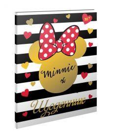 Щоденник шкільний інтегральний (укр.) ''Minnie gold'' Yes 911120
