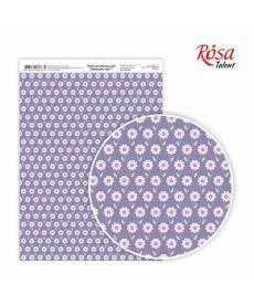 Бумага дизайнерская А4 Rosa Лавандовые мечты 1 21х29.7см 250г/м2 4823064969634