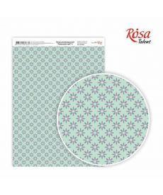 Бумага дизайнерская А4 Rosa Лавандовые мечты 4 21х29.7см 250г/м2 4823064969665