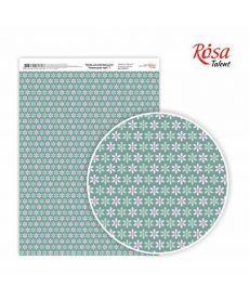 Бумага дизайнерская А4 Rosa Лавандовые мечты 7 21х29.7см 250г/м2 4823064969696