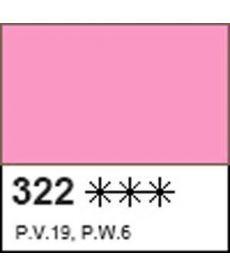 Краска акриловая ДЕКОЛА розовая, матовый, 50мл ЗХК