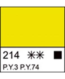 Краска акриловая СОНЕТ лимонная, 75мл ЗХК