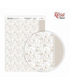 Бумага дизайнерская А4 Rosa Love story 5 21х29.7см 250г/м2 4823064970531
