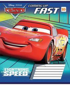 Тетрадь в косую 12 л. Yes А5 Cars Fast 761412