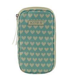 Косметичка Kite 1 отд. Fashion зеленый K19-605-2