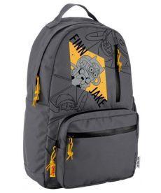 Рюкзак городской Kite отд. для ноутбука Adventure Time серый AT19-949L
