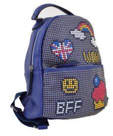 Рюкзак Yes Weekend рюкзачек синий искуственная кожа 555178
