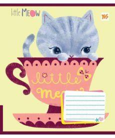 Тетрадь в линию 12 л. Yes А5 Little Meow Tenderness 761378