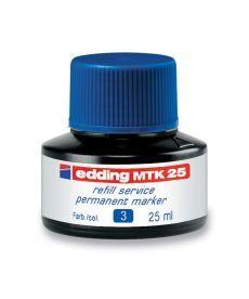 Чернила для маркеров Edding для заправки Permanent e-T25 синие e-MTK25/03