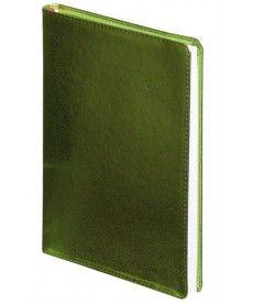 Ежедневник датированный А5 Buromax 288 стр. салатовый Metallic BM.2033-15