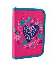 Пенал-книжка Yes 1 отд. 1 отв. HP-03 Cute 532154