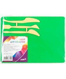 Набор для лепки Kite доска 180x250мм 3стека зеленый K17-1140-04