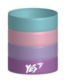 Стакан для письмового приладдя розбірний ''Pretty Rings'' Yes 470446
