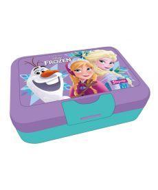 Контейнер для їжі ''Frozen'', 450 мл, з ложкою та виделкою 1 Вересня 706837