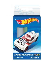 Мел штетной Kite Jumbo 3 шт Hot Wheels HW19-077