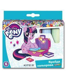 Мел штетной Kite Jumbo 6 шт My Little Pony LP19-073