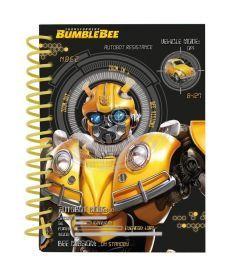 Записная книга блокнот Kite BumbleBee А6,80л.карт. обл, спираль TF19-222