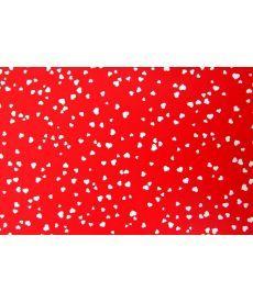 Бумага с рисунком Heyda Сердца двусторонняя Красная 21x31см 200г/м2 4005329751202