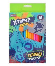 Карандаши 18 цв. ''X-Treme''