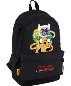 Рюкзак городской Kite Adventure Time черный AT19-994L