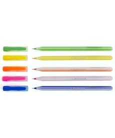 Ручка масляная 1 Вересня Candy синий 411587