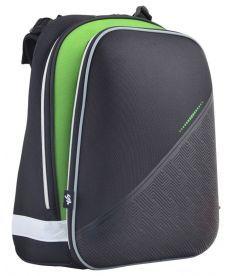 Рюкзак школьный Yes каркасный отд. для ноутбука Black 554613