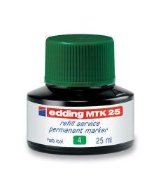 Чернила для маркеров Edding для заправки Permanent e-T25 зелёные e-MTK25/04