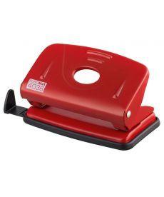 Дырокол 10 л Buromax металлический красный BM.4036-05