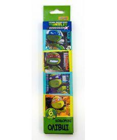 Карандаши 6 цв. ''Ninja Turtles''
